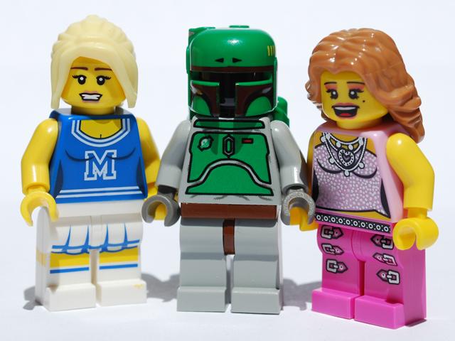 Lego ladies love Fett.