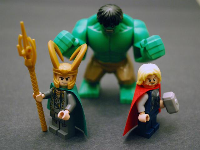 lego avengers hulk vs thor - photo #6