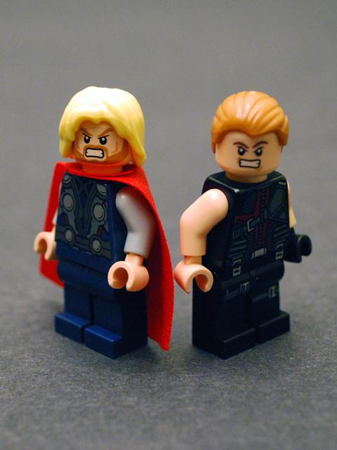 Who has the worst Lego hair?