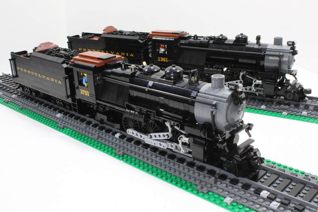 5 Trains Pop Culture Can Model furthermore Awvr Ac4400cw 767 besides Ho Scale Machine Shop as well T80 Russian Tank Instructables also Gordon And Mallard 673853203. on custom model train engines