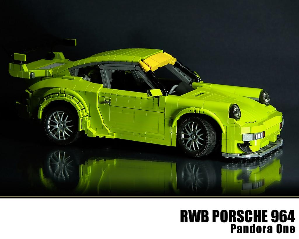 LEGO Porsche 964