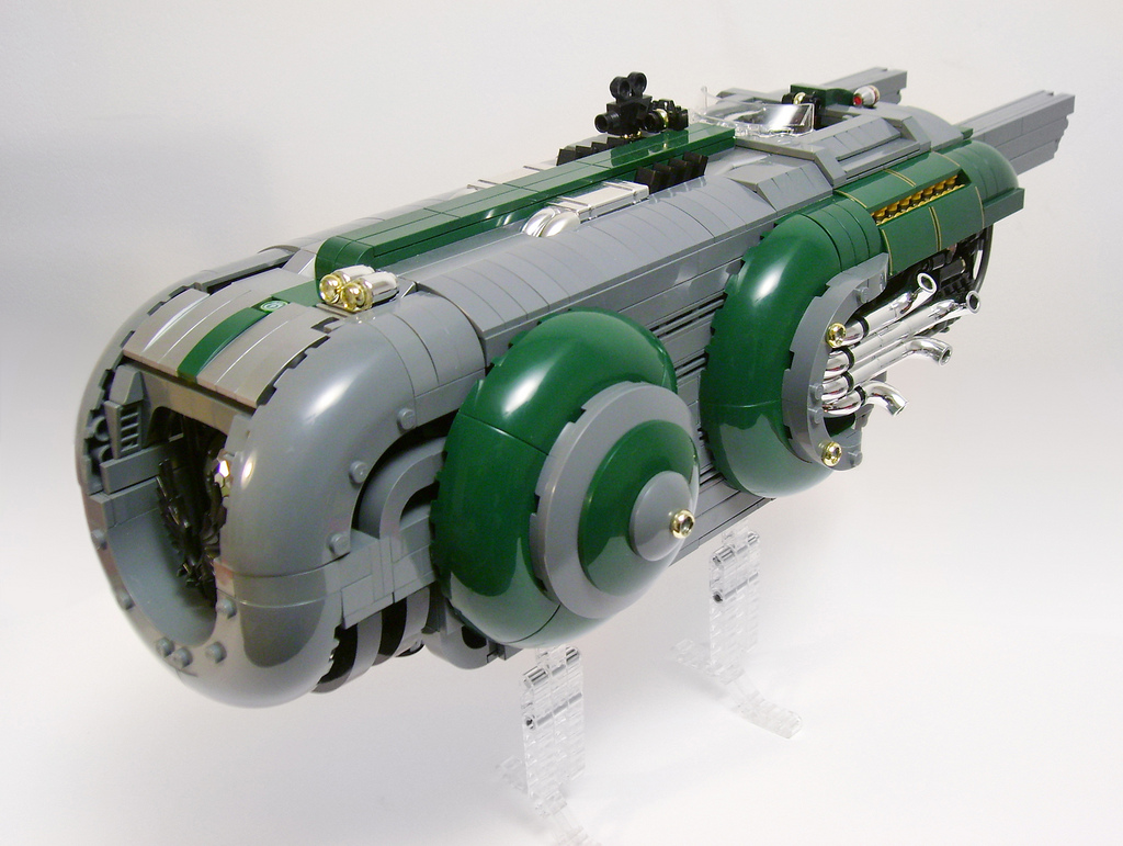Another LEGO space train
