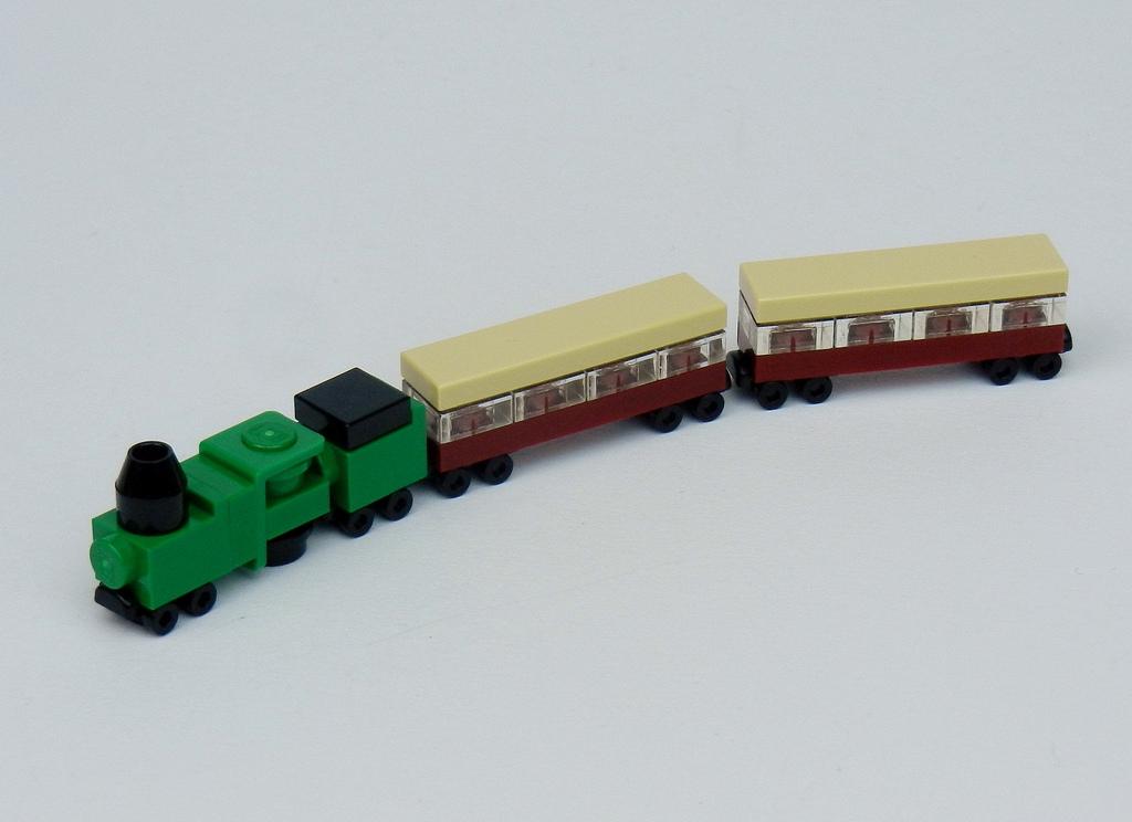 Как сделать поезд из лего 159