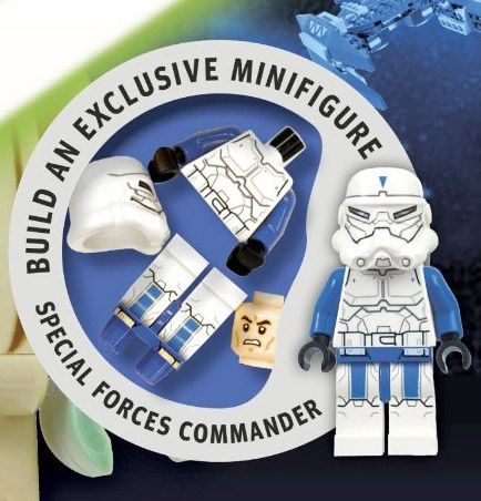 LEGO Star Wars Yoda Chronicles special forces commander