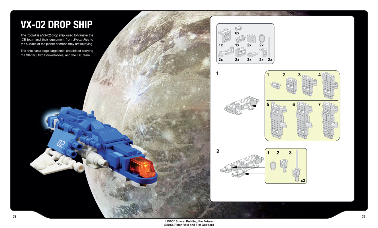 LEGO Space Building the Future instructions