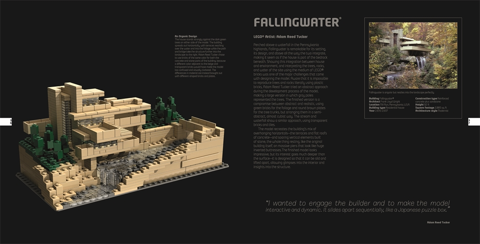 LEGO Architecture Visual Guide