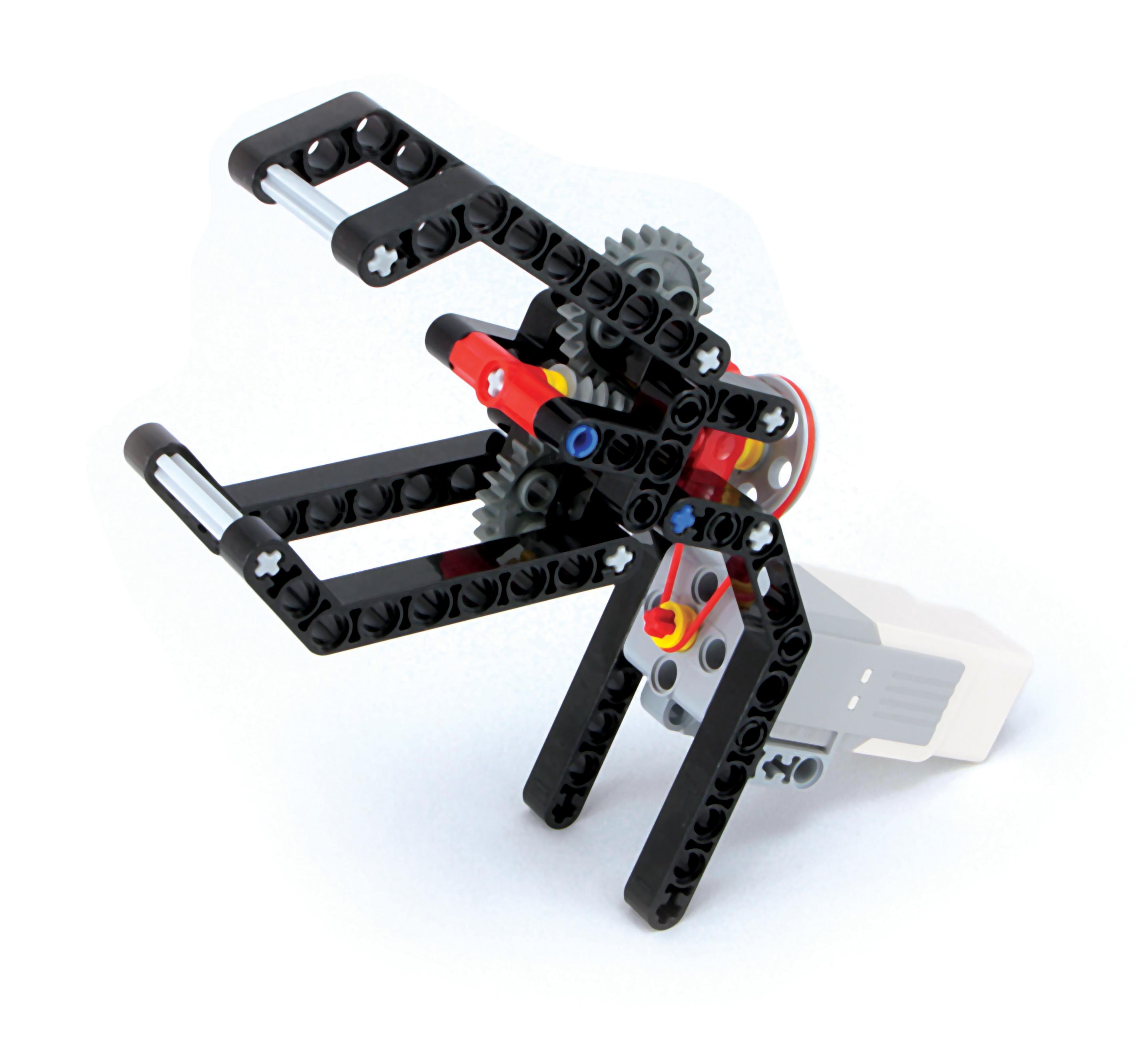 Lego Mindstorms Gear Build