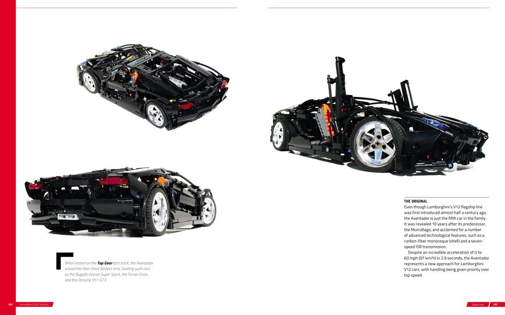 Incredible LEGO Technic book