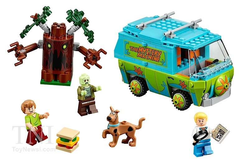 LEGO Mystery Machine