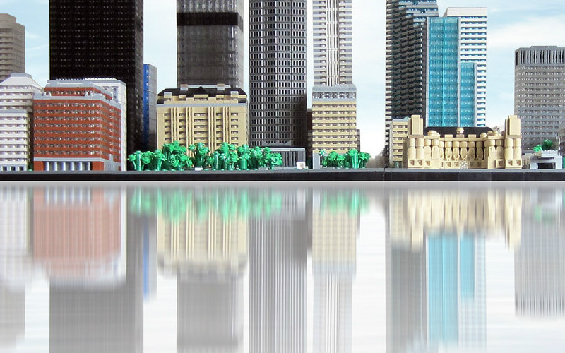 Is this real, or a LEGO microscale skyline?