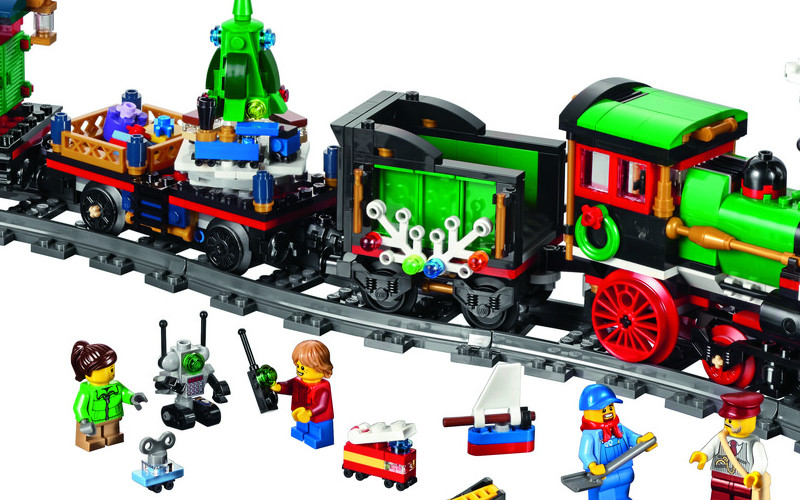 A LEGO Winter Holiday Train gets added to the Winter Village Theme