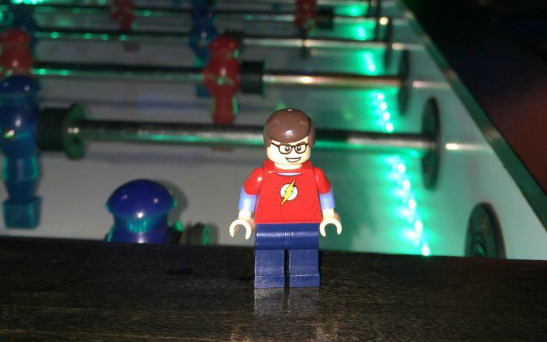 Lost my LEGO sig fig at VMworld – Boo!