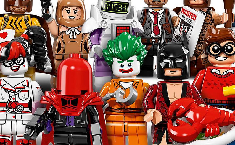 LEGO Batman Movie CMFs!