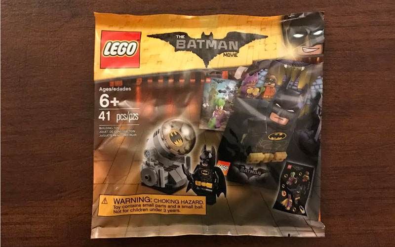 LEGO Batman Movie polybag – free!