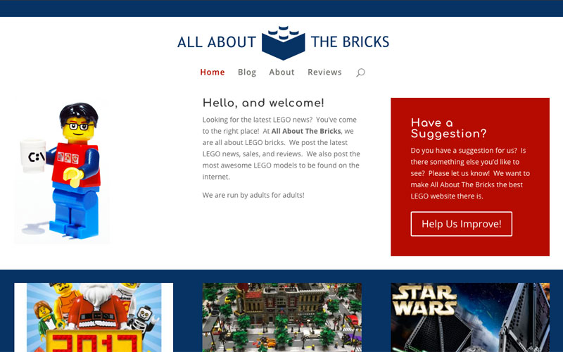 New & Improved All About the Bricks!