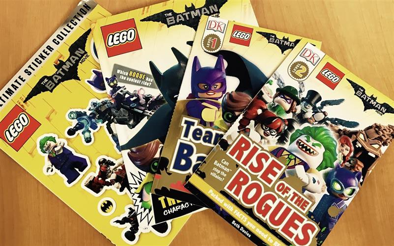 LEGO Batman Movie books – Review