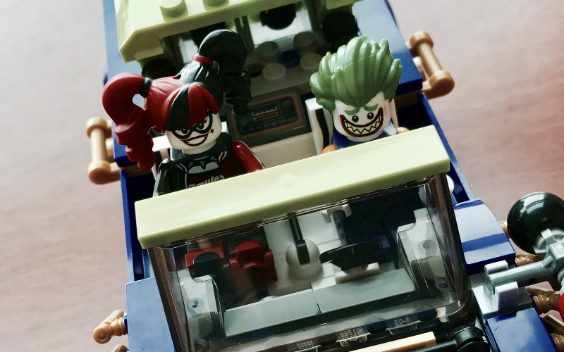 LEGO Review: 70906 The Joker Notorious Lowrider