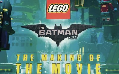 LEGO Batman Movie book: The Making of the Movie Review