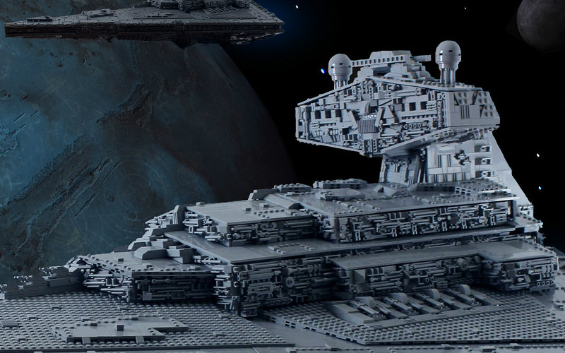 Another Beautiful LEGO Star Destroyer is MOC of the Week!