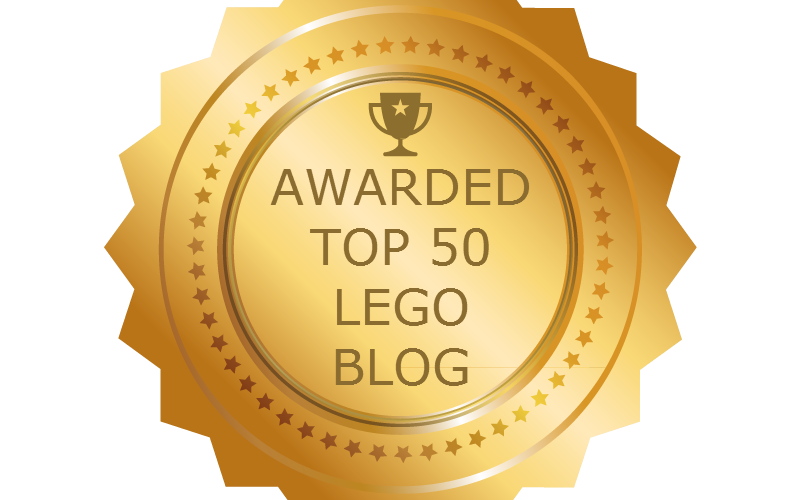 Named a Top 50 LEGO Blog in the world!