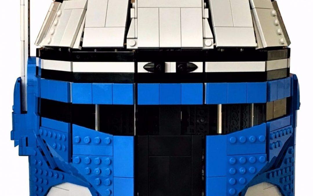 Wearable LEGO Jango Fett Helmet