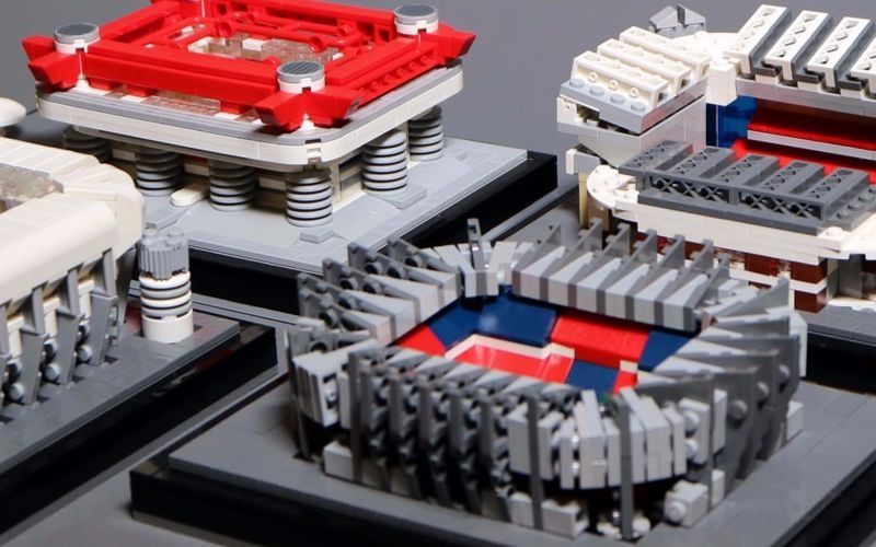 LEGO Football Stadiums For David Beckham!