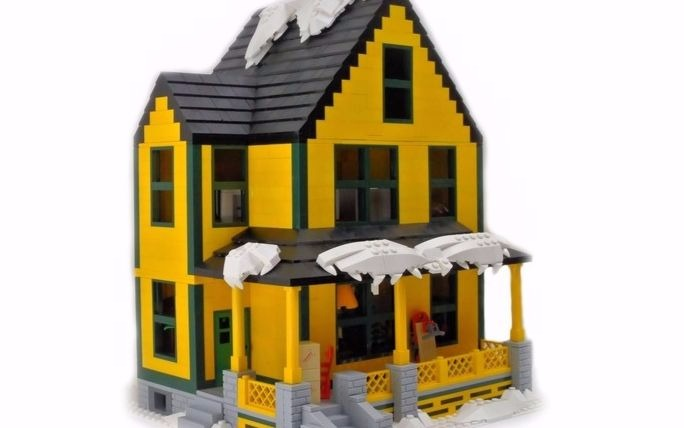 LEGO Christmas Story House?  Yes, please!