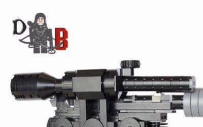 Build a LEGO DL-44 – Han's blaster of choice!