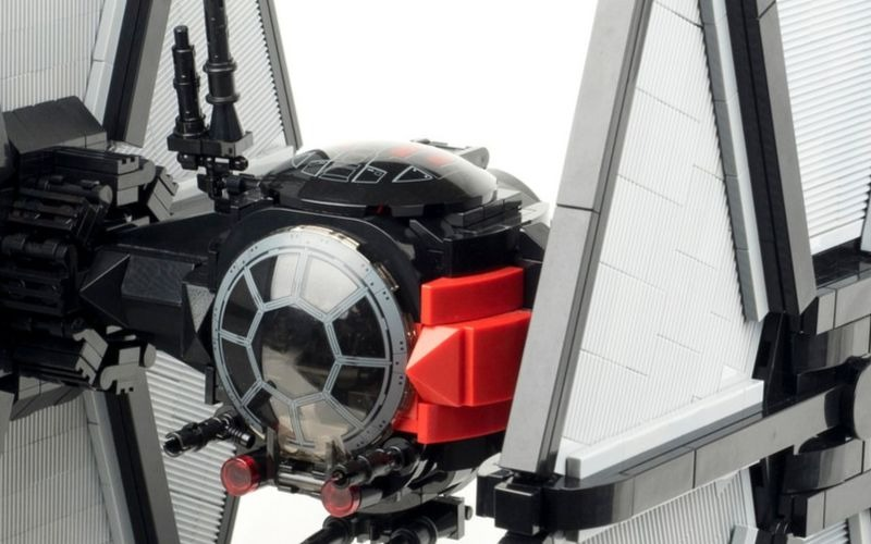 This First Order LEGO TIE Fighter is beautiful