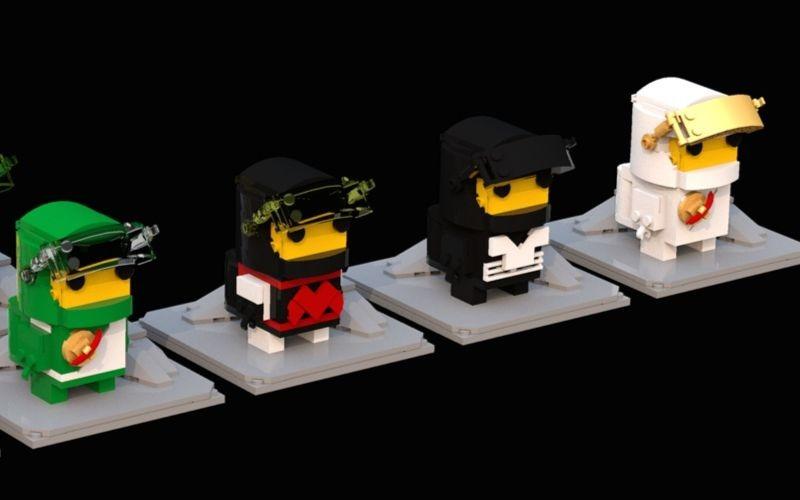 LEGO Classic Space Brickheadz