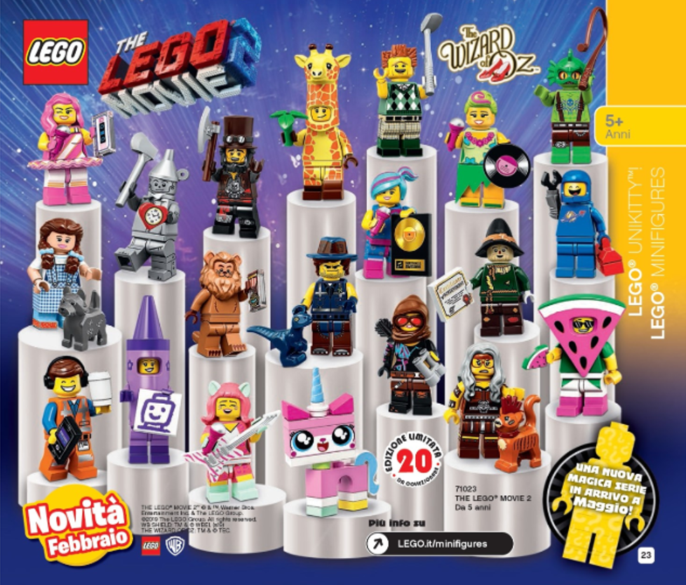 LEGO Movie 2 Collectible Minifigures