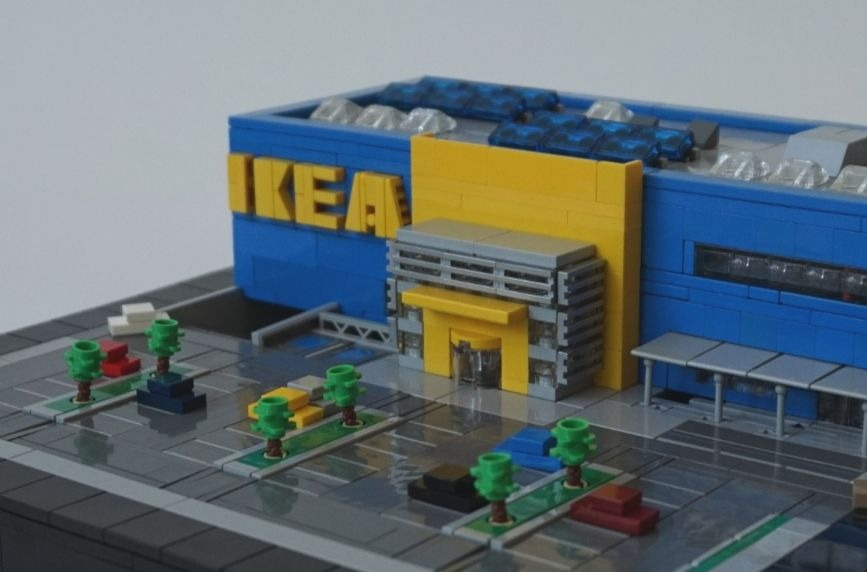 This IKEA model is no April Fool's joke!