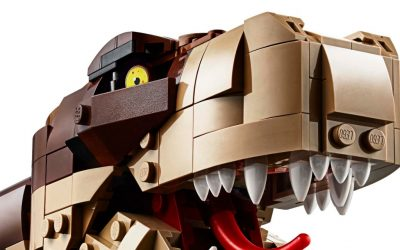 LEGO Jurassic World Jurassic Park: T. rex Rampage (75936)