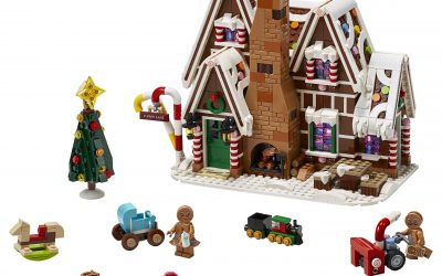 New LEGO Winter Village Set: Gingerbread House 10267